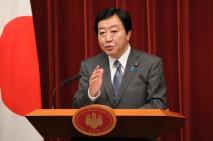 福島第1原発「冷温停止状態」達成を宣言する野田総理
