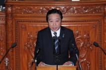 野田佳彦総理大臣