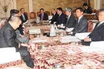 衆議院選挙制度に関する各党協議会を開催
