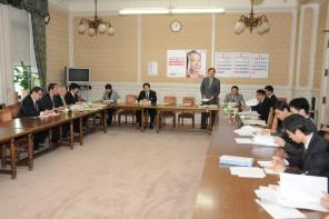 「民主党福島県連と党本部の合同会議」第1回会合