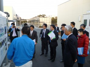 福岡・北九州のグリーンアジア国際戦略総合特区を視察