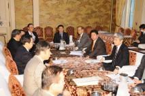 衆院制度に関する各党協議会を開催