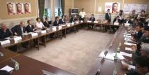 衆参合同選挙対策本部役員会の初会合を開催