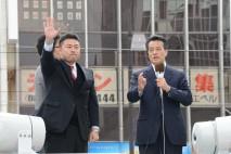 「政治を前に進んめてほしい」 岡田副総理が高井・岡山…