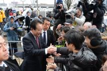 父の郷里・富山で多くの皆さんに迎えられた野田代表