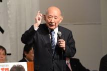 「一体改革は歴史に残る改革」藤井最高顧問が福山市で演…