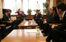 ルース駐日米国大使による海江田代表表敬