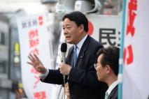 「都議会で人を大事にする政治の継続を」足立区で海江田…