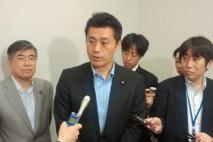 細野幹事長、みどりの風と参院選挙で協力体制を敷いてい…