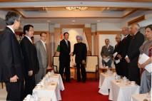 海江田代表とインドのシン首相が会談