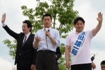 【長野】消費税増税を先行する自民党に信州では羽田候補…