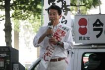 安倍政権の経済政策は地方には届いていない、と野田くに…