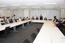 民主党東京電力福島第1原発汚染水対策本部第1回会議を…