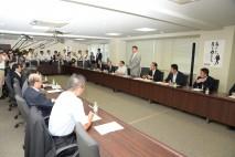 参院選挙対策本部役員会を開き、参院選挙総括の第1次案…