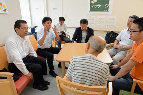 週2回デイサービスを利用する90歳で独り暮らしの男性…