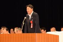 共生社会を目指す政党として前進する 基幹労連大会で海…