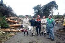 党災害対策本部、台風被害の伊豆大島へ 現地の状況をつ…