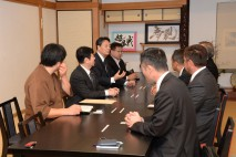 富士町旅館組合、佐賀北商工会との懇談