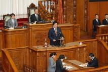 【参院本会議】森大臣問責決議案否決 金子議員が趣旨説…