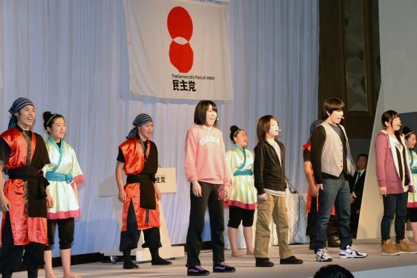 南会津の子どもたちの劇団息吹によるパフォーマンス