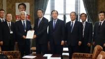 海江田代表、電力料金上昇による産業・雇用への影響緩和…