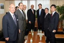 在京アラブ外交団と意見交換