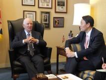 カーディン上院外交委東アジア太平洋小委員長との会談