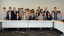 全国女性税理士連盟のメンバーらと党財務金融部門会議・…