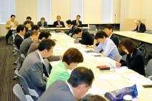 安全保障総合調査会の総会で集団的自衛権問題を議論