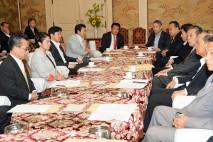 与野党10党による国会対策委員長会談