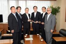 福島県知事と面談