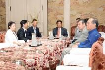 野党8党国対委員長会談
