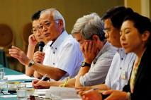 意見を述べる山口県連の西嶋幹事長