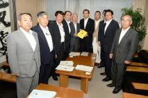 大畠幹事長、会津総合開発協議会から福島復興後押しへの…