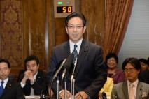 【参院予算委】水岡議員が高校就学支援について所得制限…