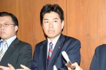 山井厚生労働委理事、与党の強引な委員会運営に強く抗議