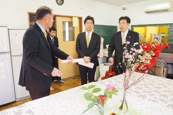児童自立支援施設「千葉県生実学校」を視察