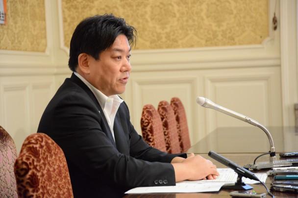 羽田雄一郎参院幹事長