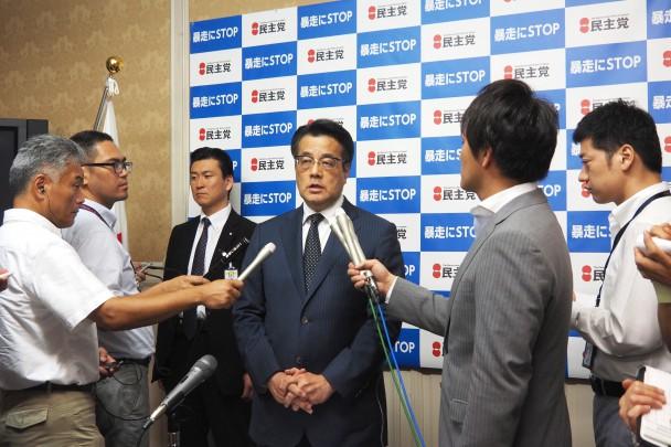 戦後70年談話「一般論でなく総理自身の言葉で述べるべきだった」岡田代表