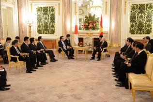 ベトナム共産党チョン書記長と会談