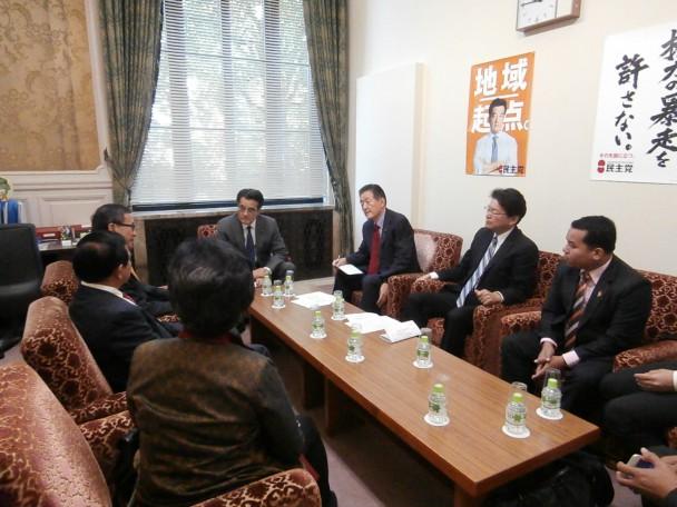 カンボジア救国党党首との会談2