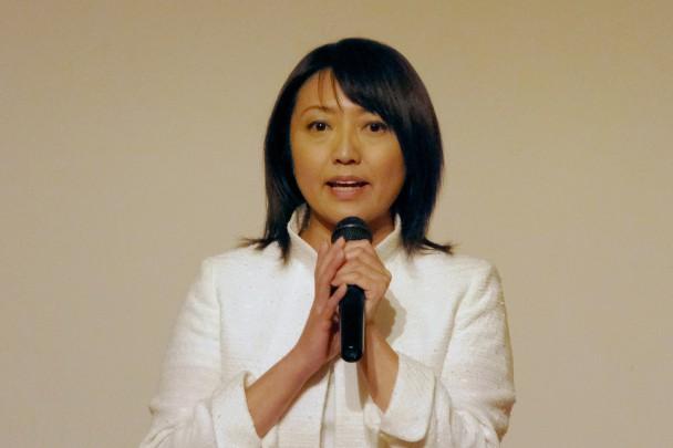 衆院北海道5区補選に出馬を表明した池田真紀さん