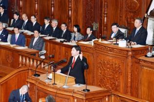 「4つの重大なバラマキ問題」と補正予算を批判する宮崎議員