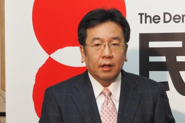 枝野幹事長ぶら下がり記者会見