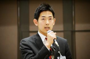 黒石健太郎参院選公認内定候補予定者