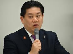 羽田雄一郎企業団体委員長