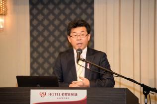 NPO法人札幌チャレンジドの加納尚明理事長