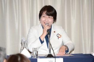 共産党の高橋千鶴子衆院議員