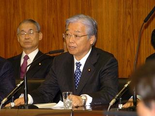 民主党テロ根絶新法と秋山直紀氏参考人質疑